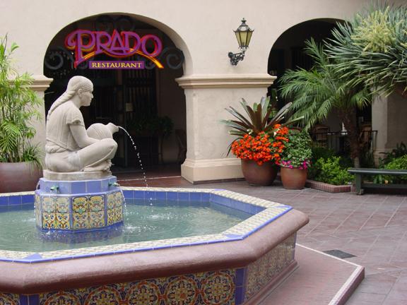 Casa del Prado fountain