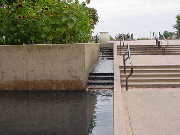 Water Stairs