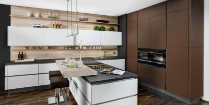 kuchyňa so žliabkovými profilmy