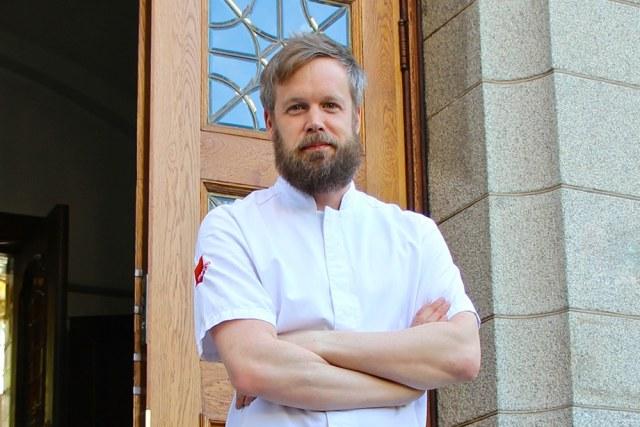 Gröna Hagars Kött levererar till Bryggarsalen.