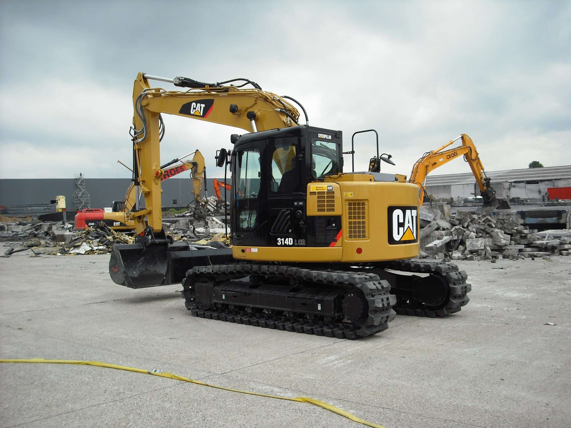 hight resolution of cat 314d