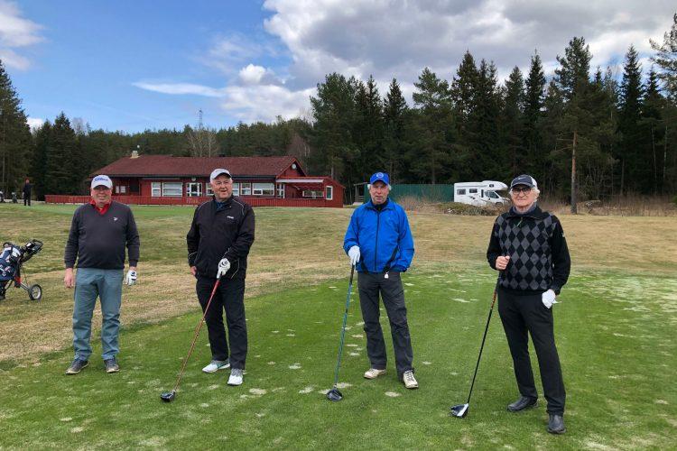 Golfsesongen 2021 er i gang