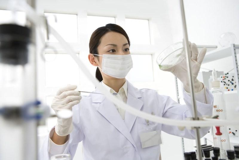 実験室の美女