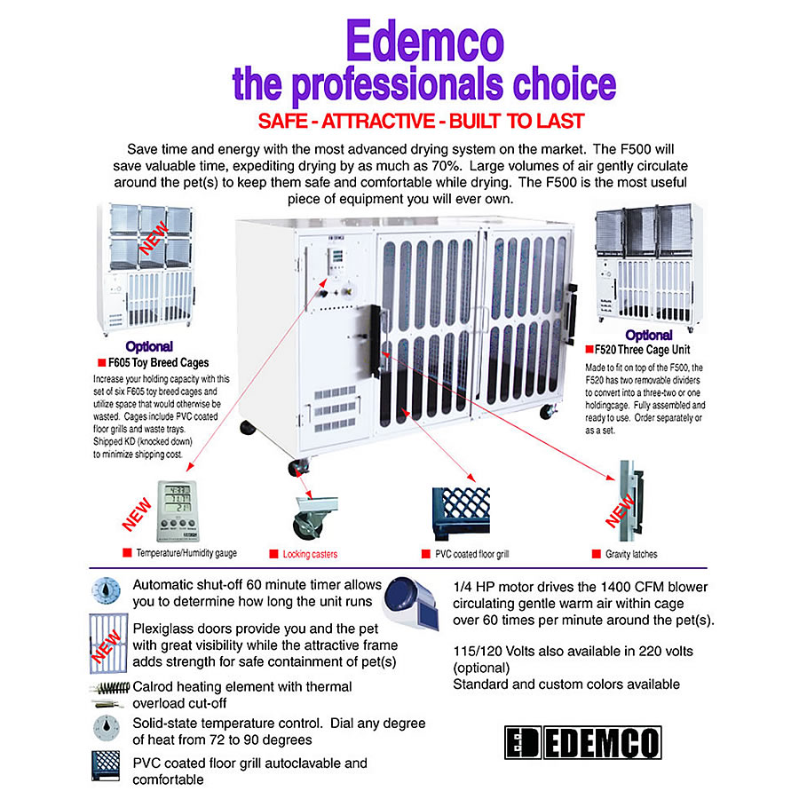 hight resolution of edemco f500 brochure