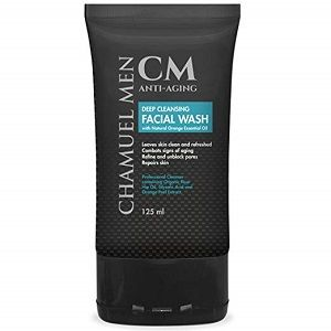 Chamuel-Men-Anti-aging-mens-face-cleanser