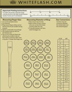 Engagement ring sizing chart also whiteflashringsizer groomsadvice rh