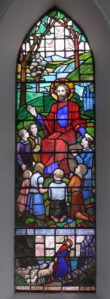 The Good Shepherd Window designed by Irish artist Kitty O'Brien
