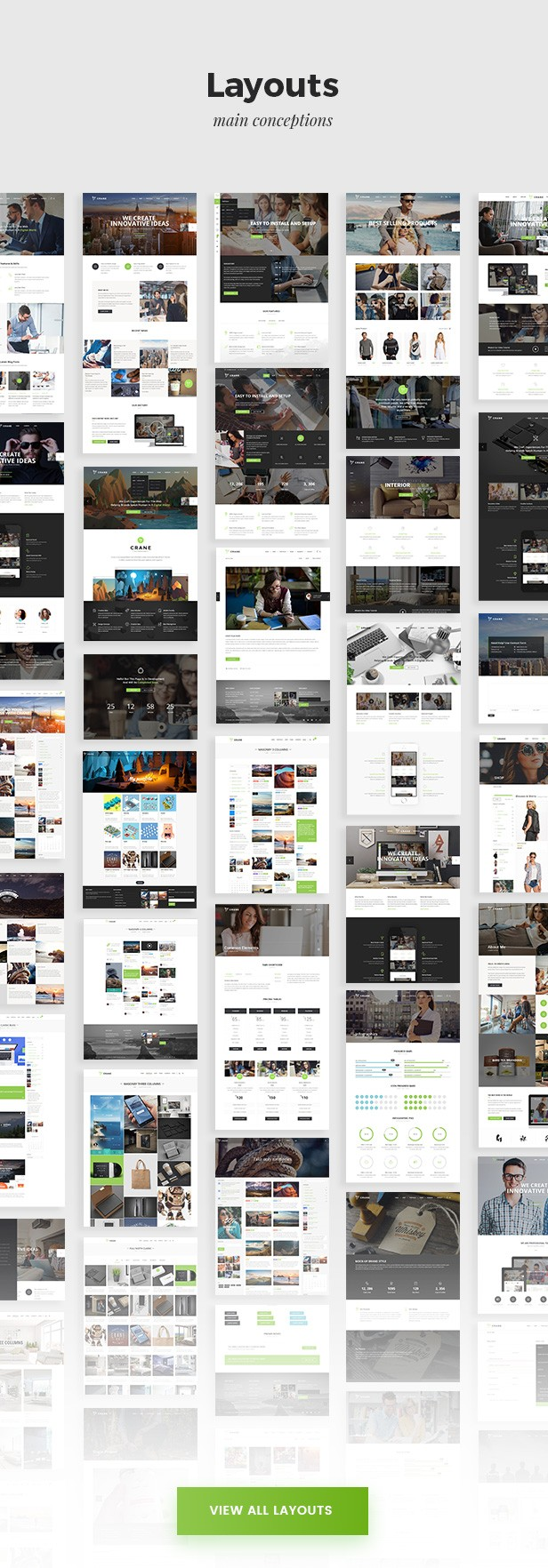 View all New Crane Trendy Theme Layouts