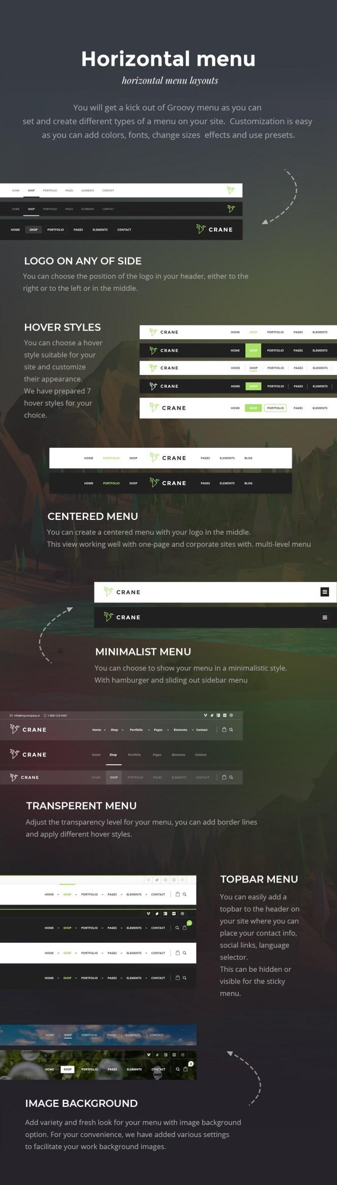 New professional and premium Mega Menu Plugin for WordPress