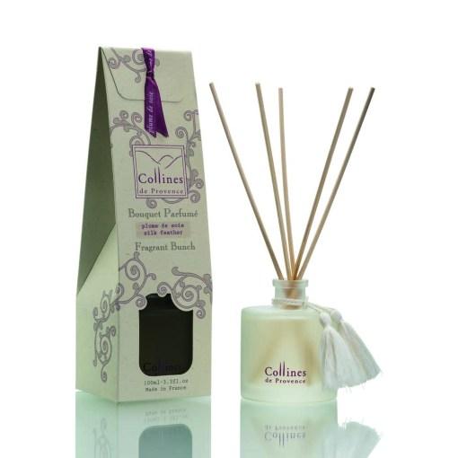 Geurstokjes, silk feather, Collines de Provence