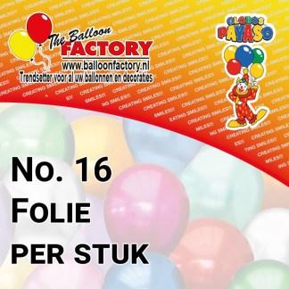 No. 16 Folie