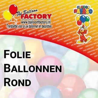 Folie Ballonnen Rond
