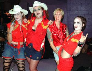 Rhinestone Cowgirls Halloween