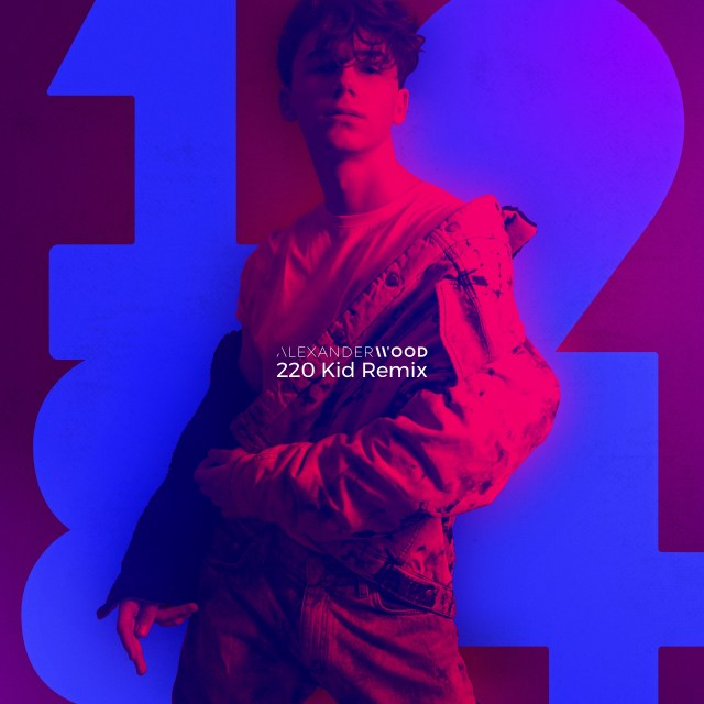 Fast rising French-American Singer 'Alexander Wood' Drops '220 KID Remix' of his highly anticipated single '1984'  into UK Clubs.