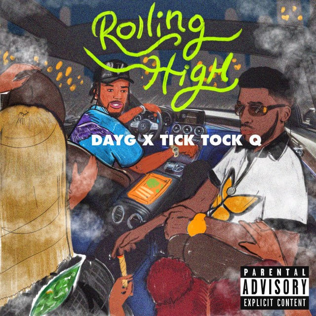 Tick Tock Q' and 'Day G' drop  a melodic timeless groove on the intoxicating spit of 'Rolling High'