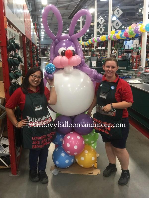 Jumbo Bunny Balloon Sculpture