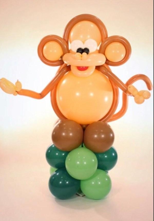 Jumbo Monkey Balloon Sculpture delivered