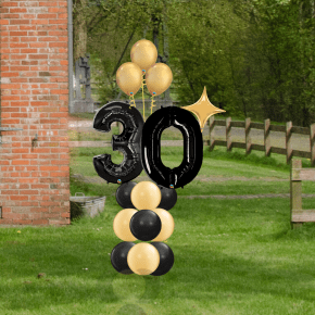black and gold 30 simple maruee