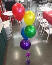5 Balloon bouquet $20