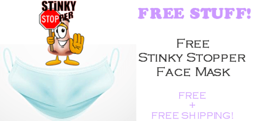 FREE Stinky Stopper Face Mask