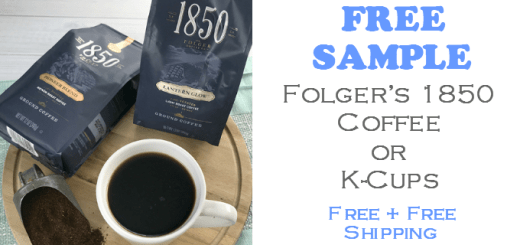 1850 Brand Coffee or K-Cups FREE SAMPLE