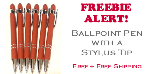 FREE Ballpoint Stylus Tip Pen