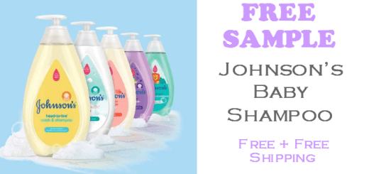 Johnsons Baby Shampoo FREE SAMPLE
