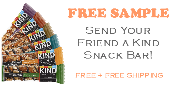 FREE Kind Bar Snack Bar - Your Friend & Yourself!