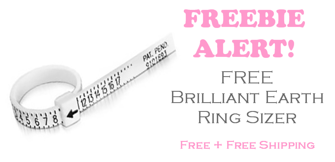 FREE Brilliant Earth Ring Sizer