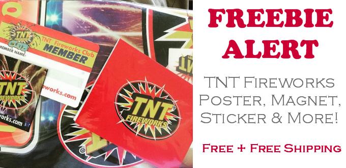 TNT Fireworks Club Freebies