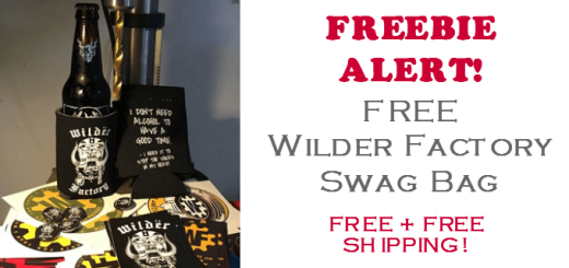 wilder factory swag bag