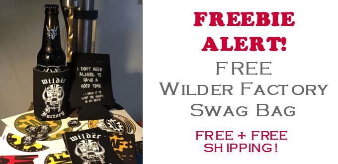 wilder factory swag bag