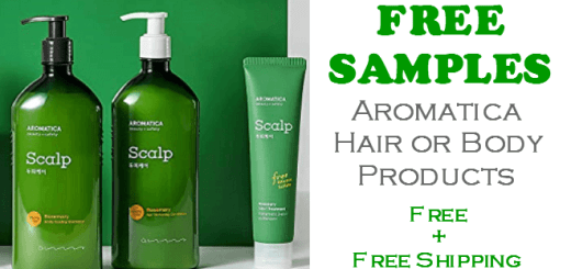Aromatica Hair or Body Care FREE SAMPLE SET