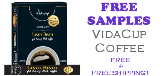 Vidacup Coffee Free Samples