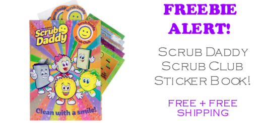 FREE Scrub Daddy Sticker Book
