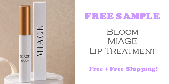Miage Bloom Lip Treatment FREE SAMPLE
