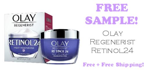 Olay Regenerist Retinol24 FREE SAMPLE