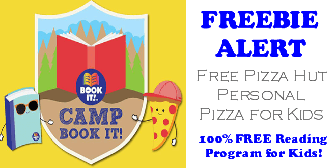 Pizza Hut Camp Book It - FREE Personal Pizza