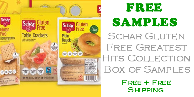 Schar Greatest Hits Collection Box of Free Samples