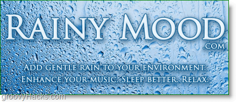 Relax Using A High Quality Realistic Rain Sound