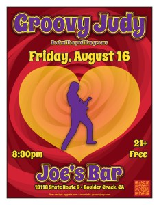Joe's Bar flyer 08-16-13