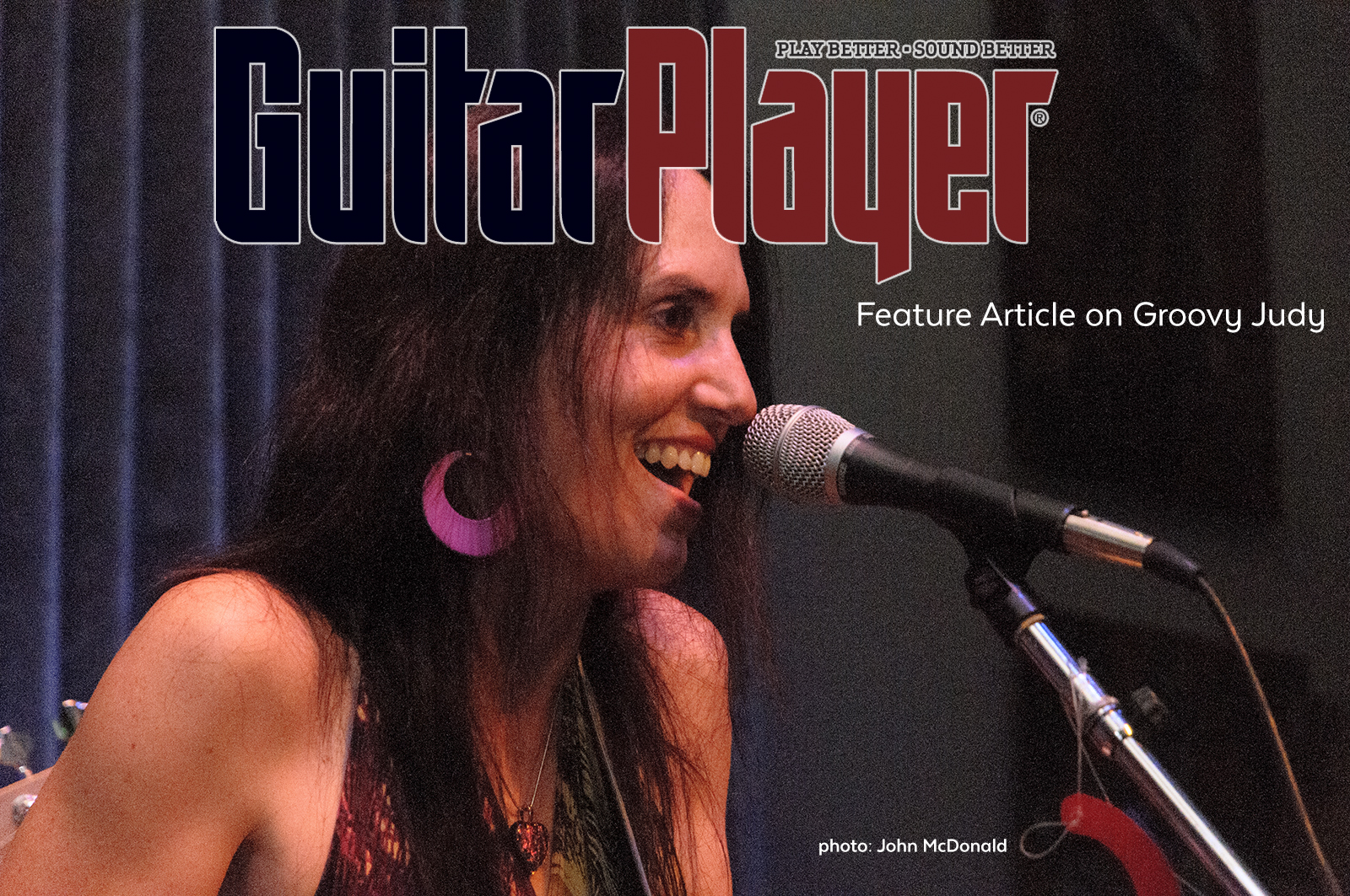 Groovy Judy in Guitar Player Magazine
