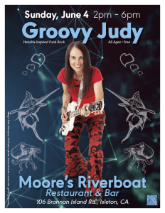 Moore's Riverboat - 06-04-17