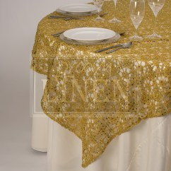 Chair Covers Rental Ottawa Jenny Lind Table And Chairs Flower Chain Lace Sequin Tablecloth Groovy Linen