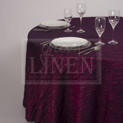 Chair Covers Rental Ottawa Green Upholstery Chico Ca Sangria Crinkle Taffeta Tablecloth Groovy Linen Trendy
