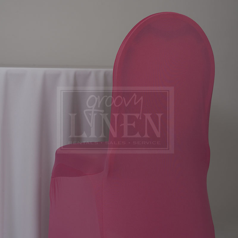 hot pink spandex chair covers swivel base for neon cover groovy linen trendy ottawa