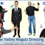 SIlicon Valley moguls dressing badly.