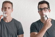 Screen shot from Harry's Razors ad. Men's grooming is booming.