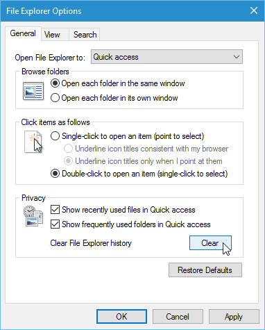 Cara Menghapus Junk File Windows 10 : menghapus, windows, Clear, Windows, Quick, Access, History, Explorer