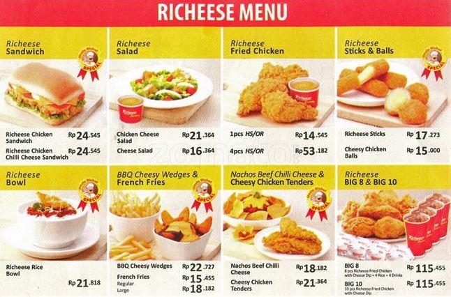 daftar-menu-richeese-factory